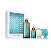 Moroccanoil Home and Away Light Gift Set