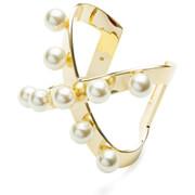 Maria Francesca Pepe Women's Orbital Pearl Cuff - Gold