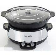 Crock-Pot® CSC011 Digital Saute Slow Cooker - 6L
