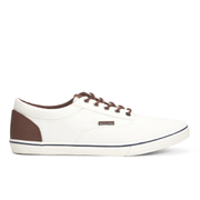 Jack & Jones Men's Vision Mix Canvas Pumps - Marshmallow