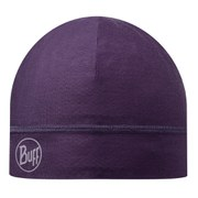 Buff Single Layer Microfibre Hat - Plum