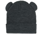 Vero Moda Women's Teddy Beanie - Dark Grey Melange