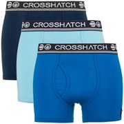 Crosshatch Men's Requisite 3 Pack Boxers - Mood Indigo