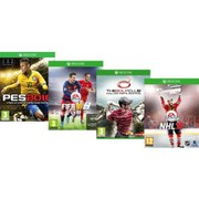 Ultimate Sports Bundle - Includes FIFA 16, The Golf Club Collector's Edition, NHL 16 & PES 16