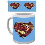DC Comics Superman Art Logo - Mug