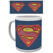 DC Comics Superman Mesh Logo - Mug
