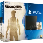Sony PlayStation 4 500GB Console - Includes Uncharted: The Nathan Drake Collection