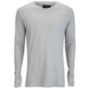 Religion Men's Crew Neck Long Sleeve T-Shirt - Grey Marl