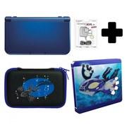 New Nintendo 3DS XL Metallic Blue + Pokémon Alpha Sapphire Steelbook Pack