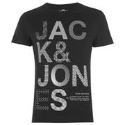 Jack & Jones Men's System T-Shirt - Black
