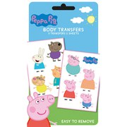 Peppa Pig Characters - Tattoo Pack