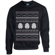 Star Wars Christmas Stormtrooper Sweatshirt - Black