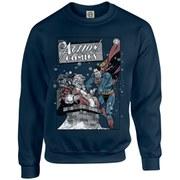 DC Originals Christmas Superman Cover Kids Sweatshirt - Navy