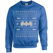 DC Originals Christmas Batman Sweatshirt - Royal