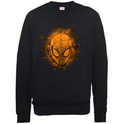 Marvel Ultimate Spider-Man Halloween Mask Sweatshirt - Black
