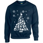 Star Wars Christmas Tree Sweatshirt - Navy