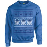 Star Wars Christmas R2-D2 Sweatshirt - Royal Blue