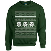 Star Wars Christmas Stormtrooper Sweatshirt - Forest Green