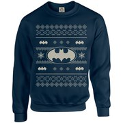 DC Originals Christmas Batman Sweatshirt - Navy