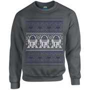 Star Wars Christmas R2-D2 Sweatshirt - Charcoal