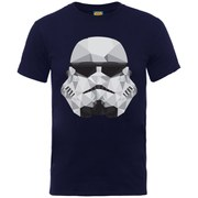 Star Wars Men's Command Stormtrooper Geometric T-Shirt - Navy