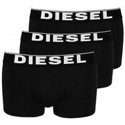 Diesel Men's Kory 3 Pack Boxers - Black
