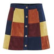 "MINKPINK Women's ""Mix It Up"" Patchwork A-Line Skirt - Multi"