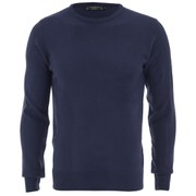 Kensington Eastside Men's Ralph Crew Neck Jumper - Navy