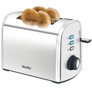 Breville Stainless Steel 2 Slice Toaster - Silver
