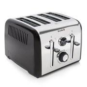 Breville VTT717 Aurora 4 Slice Toaster - Black