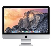 "Apple iMac with Retina 5K display MK482B/A All-in-One Desktop Computer, 3.3GHz Quad-core Intel Core i5, 8GB RAM, 2TB, 27"", Silver"