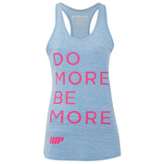 Myprotein Women's Performance Slogan Vest - Light Blue (USA)