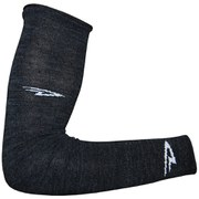 DeFeet Wool Armskin D Logo Arm Warmers - Charcoal Black