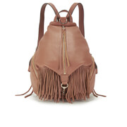 Rebecca Minkoff Women's Fringe Julian Backpack - Almond