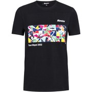 Santini Art Mapei Team T-Shirt - Black