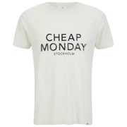 Cheap Monday Men's Standard T-Shirt - Dirty White