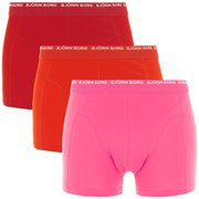 Bjorn Borg Men's 3 Pack Boxers - Camellia Rose