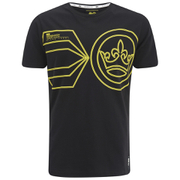 Crosshatch Men's Pegasus Print T-Shirt - Black