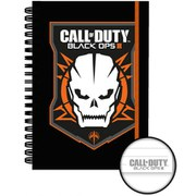 Call Of Duty Black Ops 3 Logo - A5 Notebook
