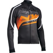 Northwave Extreme Graphic Jacket - Black/Camo Orange