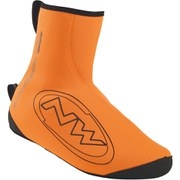 Northwave Sonic Shoe Cover - Orange/Black