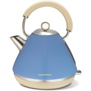 Morphy Richards 102010 Pyramid Refresh Kettle (Lid & Base) - Blue