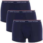 Tommy Hilfiger Men's Three Pack Trunk Boxer Shorts - Peacoat