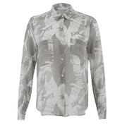 Samsoe & Samsoe Women's Molly Aop Shirt - Thrill Grey
