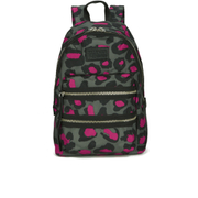 Marc by Marc Jacobs Women's Domo Arigato Printed Leopard Packrat Backpack - Raspberry
