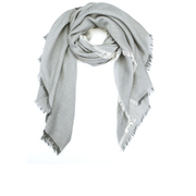 KENZO Women's Canvas Uni Scarf - Grey