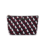 Diane von Furstenberg Women's Voyage Small Cosmetic Case - Heart Stripe