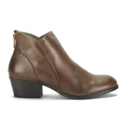 H Shoes by Hudson Women's Apisi Leather Ankle Boots - Tan