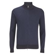 Polo Ralph Lauren Men's Full Zip Athletic Sweatshirt - Indigo Stripe
