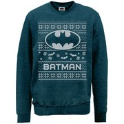 DC Comics Batman Christmas Sweatshirt - Midnight